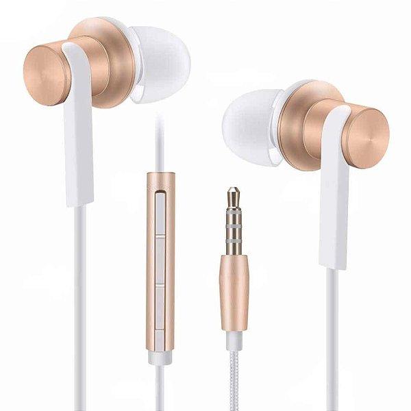 Xiaomi Mi In-Ear Pro Fone de Ouvido Dourado