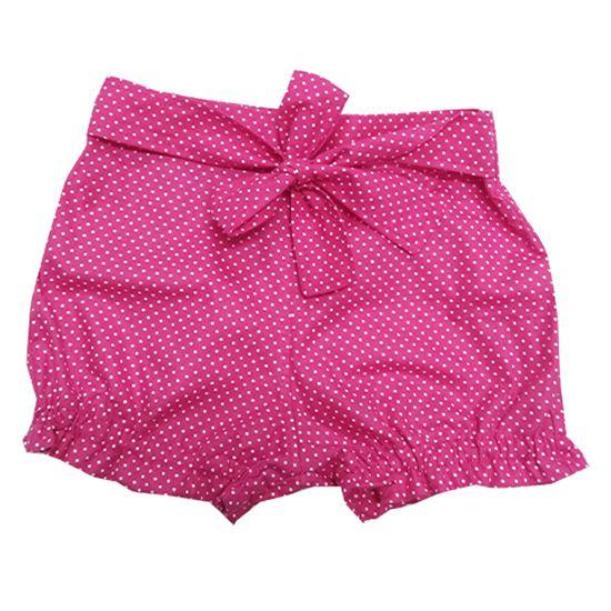 Short poá rosa