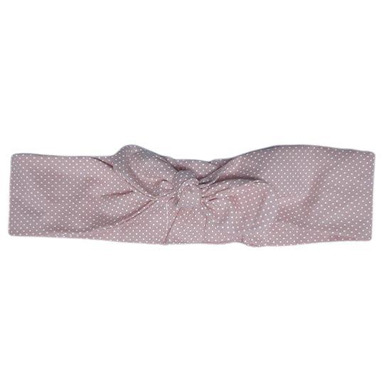 Turbante poa rosa nude