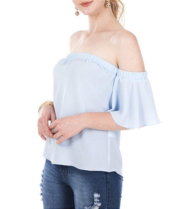 Blusa Lili Azul Claro