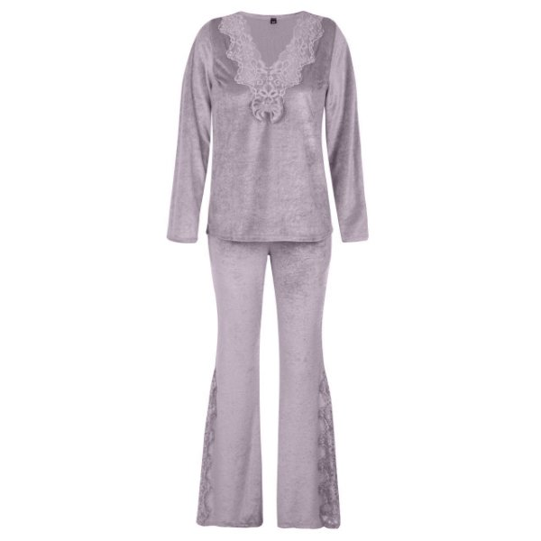 Conjunto Pijama Plush Rose