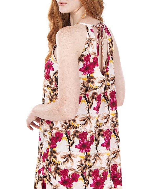 Vestido Luau Rosa