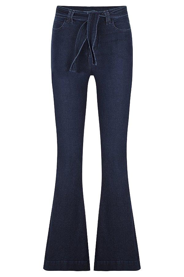 Calça Jeans Laço