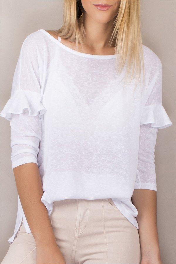 T-shirt Nanda White