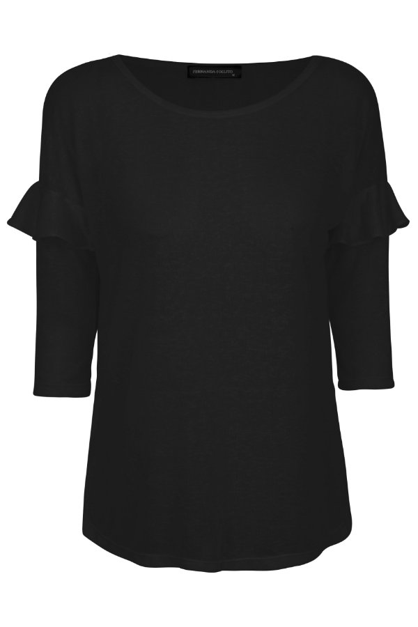 T-shirt Nanda Black