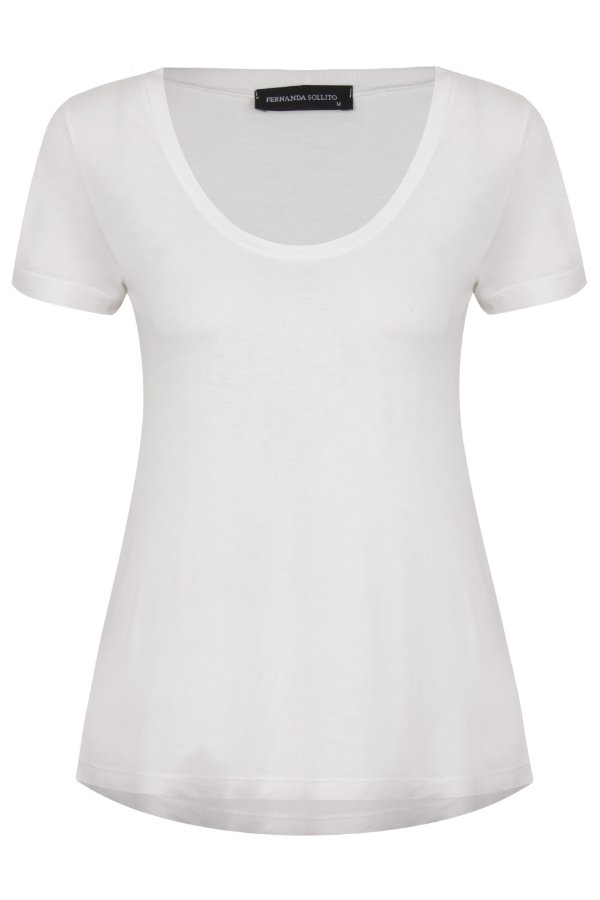 T-shirt Basic White U