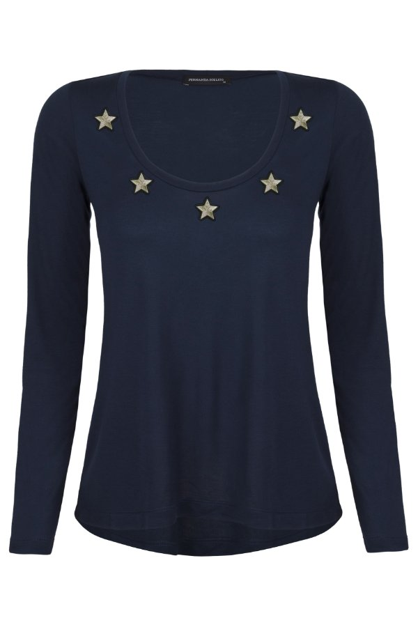 T-shirt Copa ML Blue