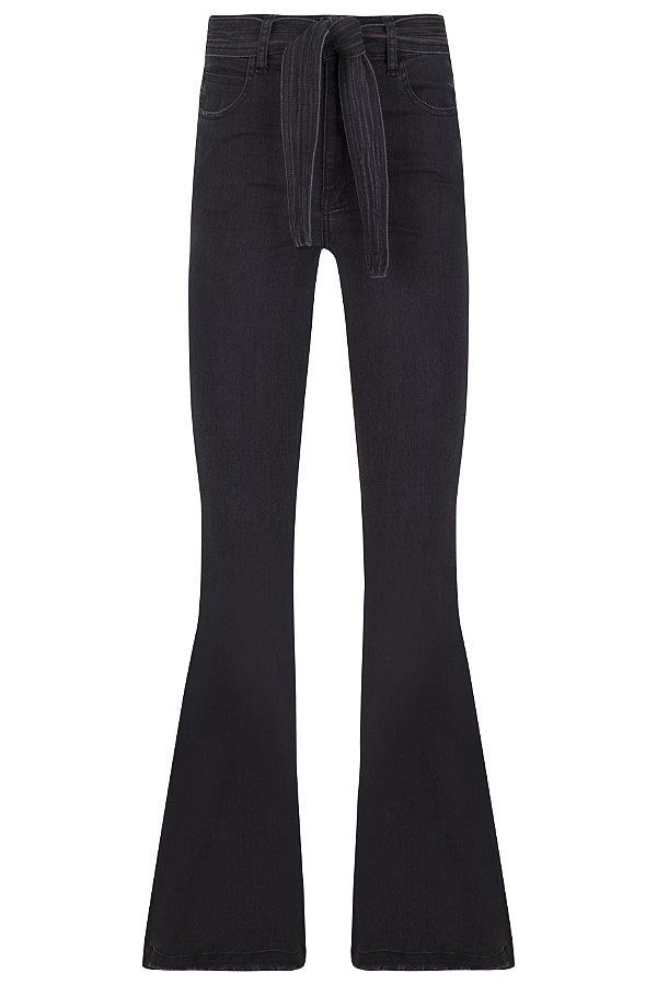 Calça Jeans Laço Black
