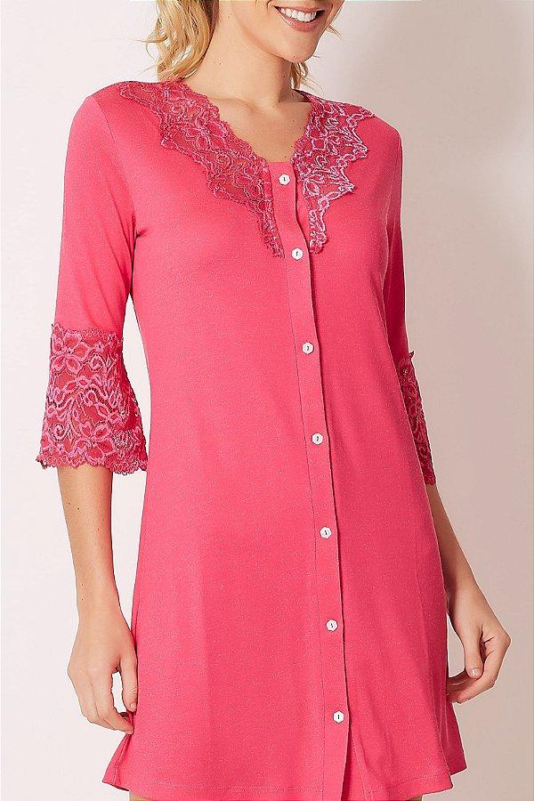 Camisola Pink Botões