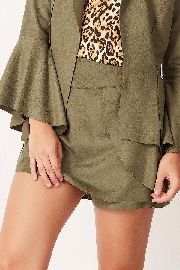 Shorts Saia Mariah Militar