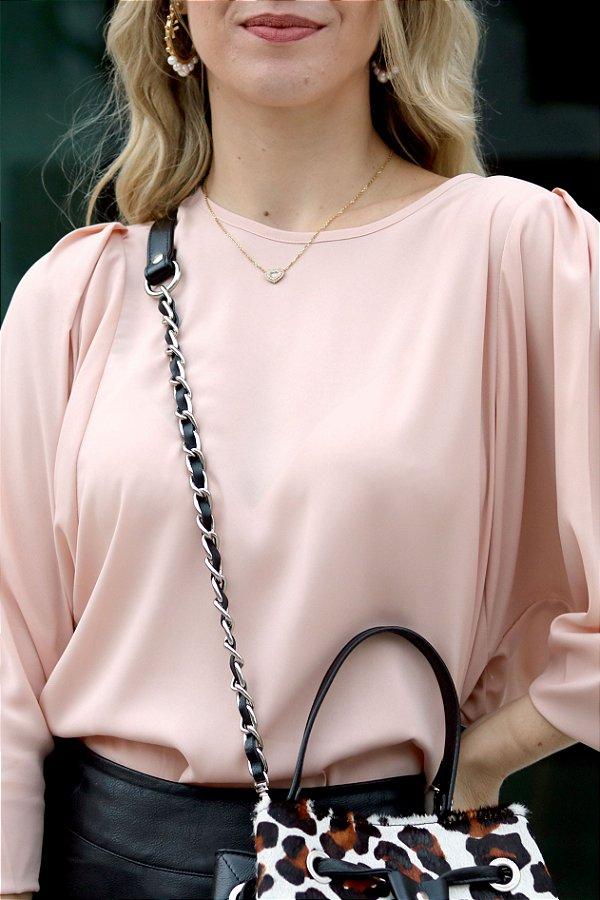 Camisa Bella Blush