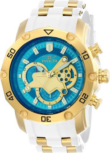 Relógio Invicta Pro Diver 23423 Banhado Ouro 18k Cronografo 50mm