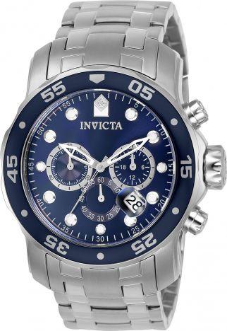 Relógio Invicta Pro Diver 21921 Aço Inox Cronografo 48mm Prata