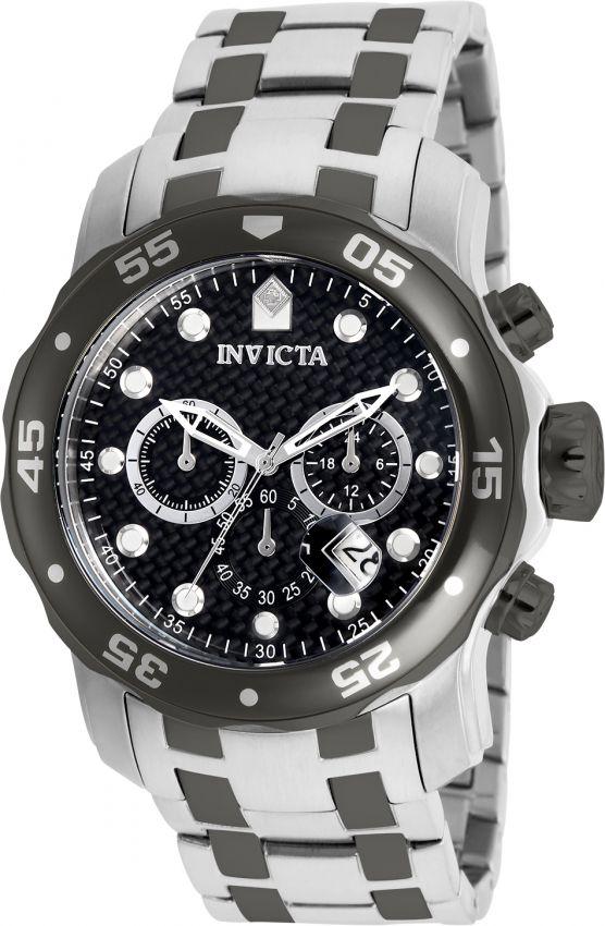 Relógio Invicta Pro Diver 14339 Prata 48mm Cronografo Aço Inoxidável