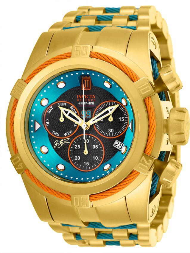 Relógio Invicta Bolt Zeus Jason Taylor Ed. Limitada 53mm Calendário Duplo Crono
