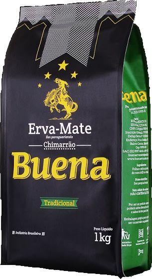 Erva Mate Buena Tradicional - 1 Kg