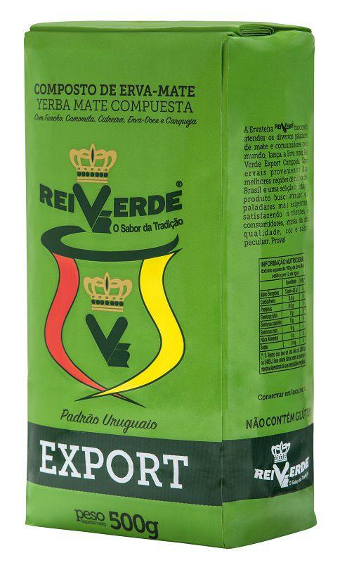 Composto de Erva-Mate Rei Verde Export 500g
