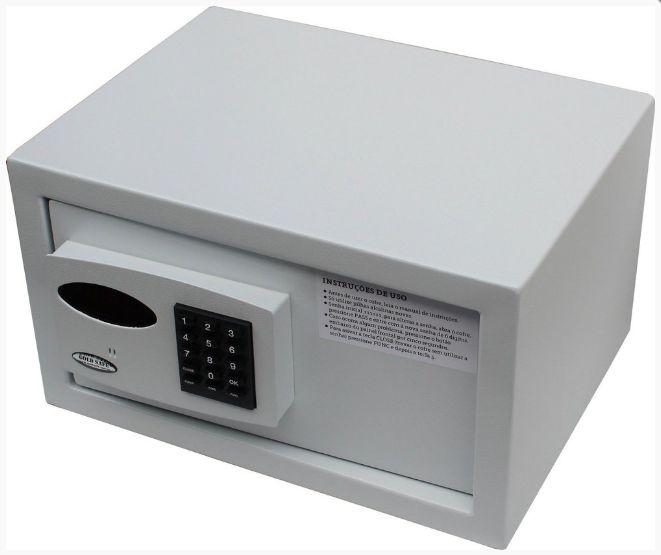 Cofre Eletrônico C/ Auditoria de Senhas Mod. Office - PRONTA ENTREGA!