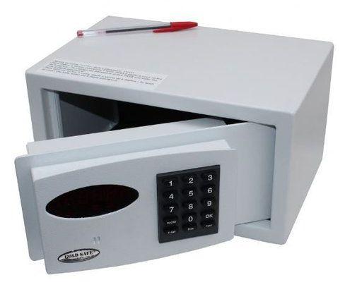 Cofre Digital Eletrônico Pequeno Mod. Hotels Box - 16x30x20cm (AxLxP)