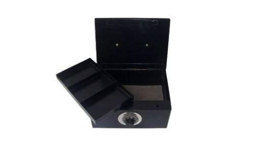Porta Joias/ valores Grande com Segredo Black