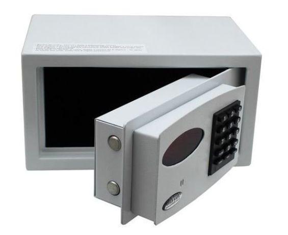 Cofre Digital Eletrônico Mod. Hotels Room - 20x30x25cm (AxLxP)