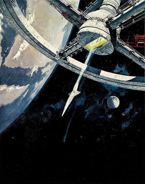 Poster 2001 - Uma Odisseia no Espaço