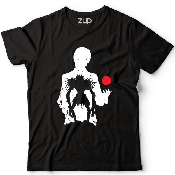 Camiseta Death Note Light e Ryuk