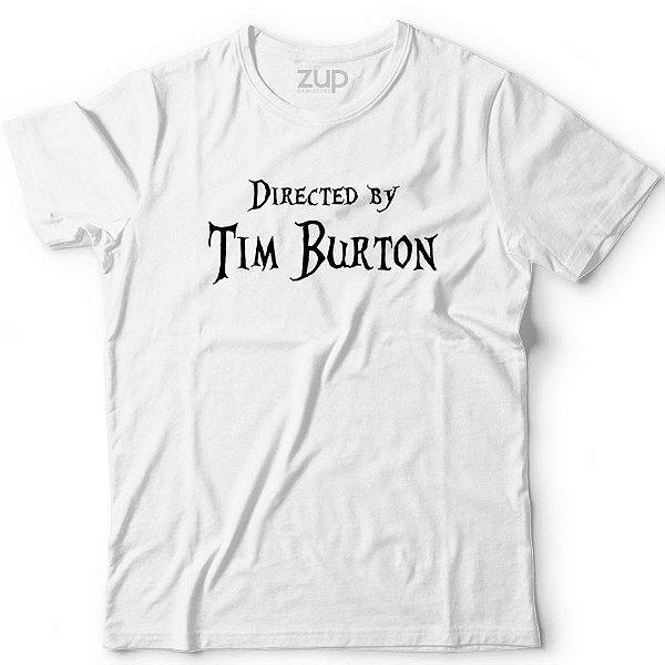 Camiseta Directed by Tim Burton
