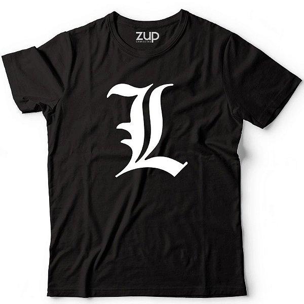 Camiseta Death Note L
