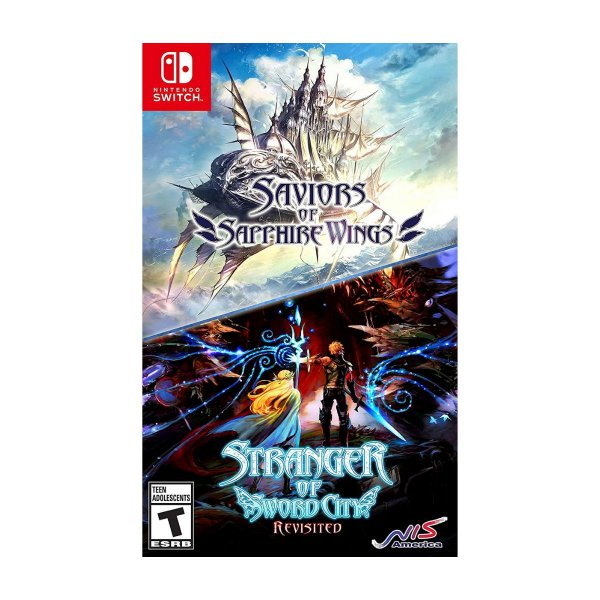 Saviors of Sapphire Wings/ Stranger of Sword City Revisited - Switch