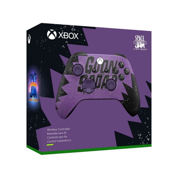 Controle Xbox Space Jam Goon Squad Exclusive - Xbox Series X/S, One e PC
