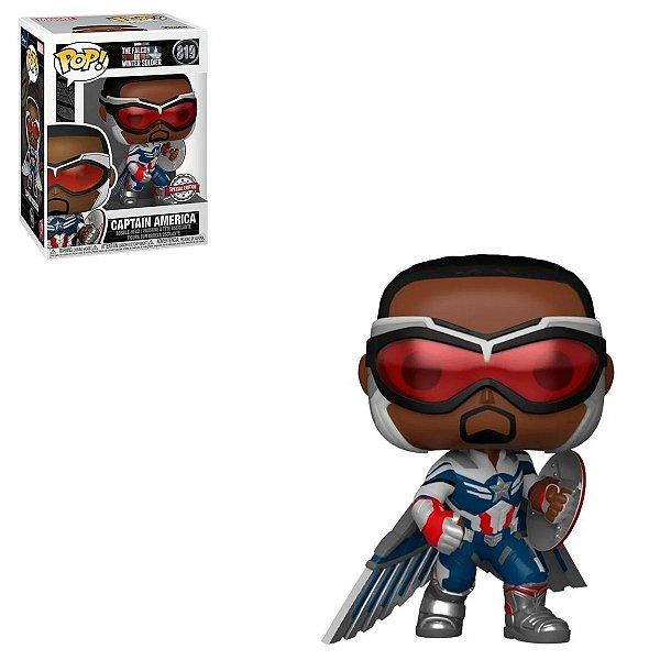 Funko Pop Falcon And The Winter Soldier 819 Captain America