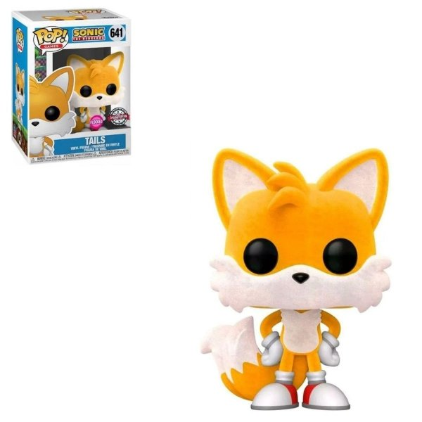 Funko Pop Sonic 641 Tails Special Flocked