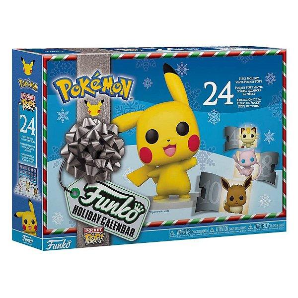 Funko Pop Advent Calendar Pokemon 24 pcs Calendário do Advento
