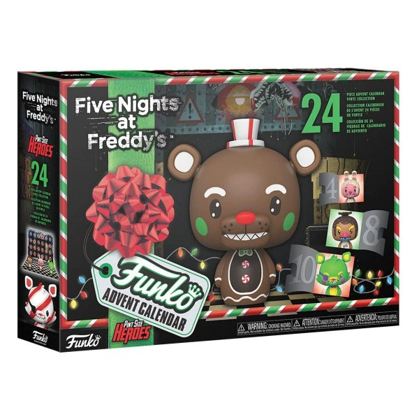 Funko Pop Advent Calendar Five Nights at Freddy's 24 peças