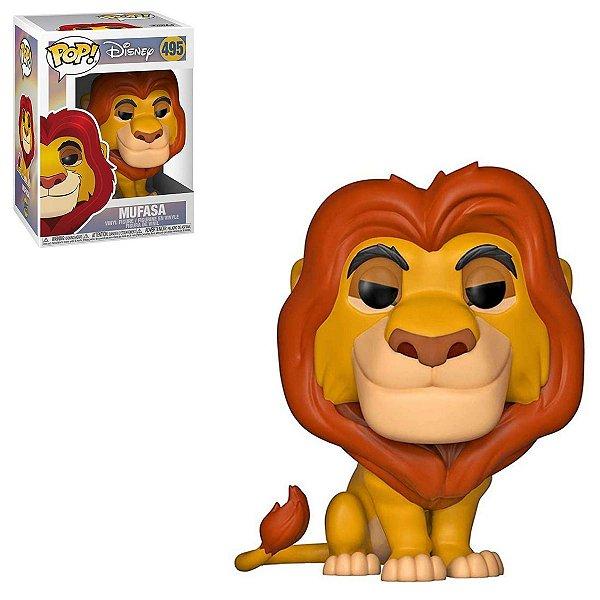 Funko Pop Disney The Lion King 495 Mufasa Rei Leão