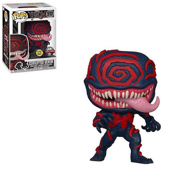Funko Pop Venom 517 Corrupted Venom Special Glows