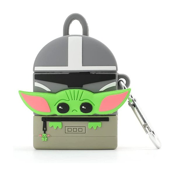 Star Wars Mandalorian The Child Baby Yoda Airpods 1 e 2 Case
