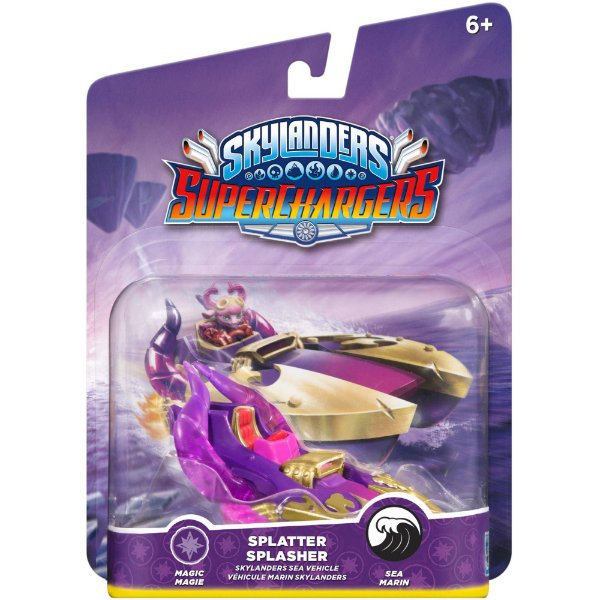 Skylanders SuperChargers: Vehicle Splatter Splasher