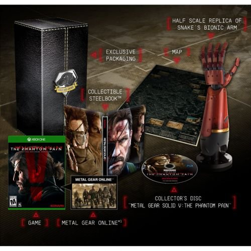 Metal Gear Solid V The Phantom Pain Collectors Edition Xbox One