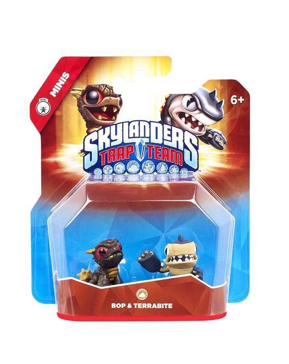 Skylanders Trap Team Minis: Bop & Terrabite