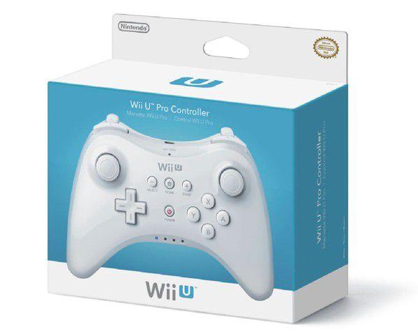 Controle Wii U Pro Controller Branco
