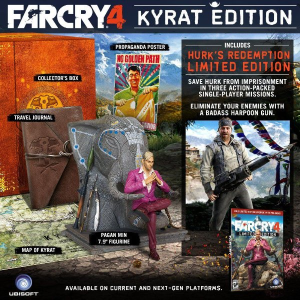 Far Cry 4 Kyrat Edition - Collectors Edition Xbox 360