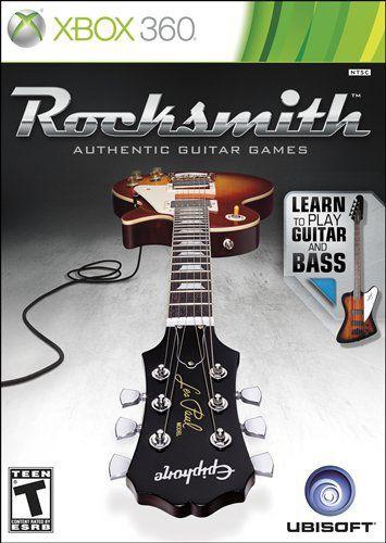 Rocksmith Guitar and Bass Somente jogo Xbox 360