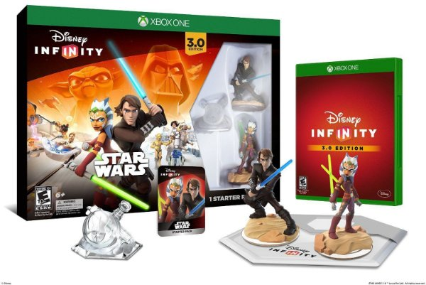 Disney Infinity 3.0 Star Wars Starter Pack Xbox One