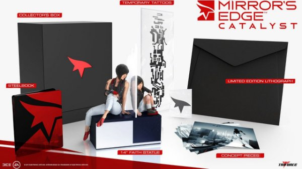 Mirror's Edge Catalyst Collector's Edition PS4