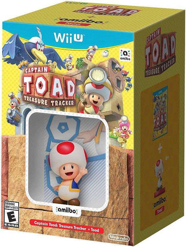 Captain Toad Treasure Tracker + Toad amiibo Wii U