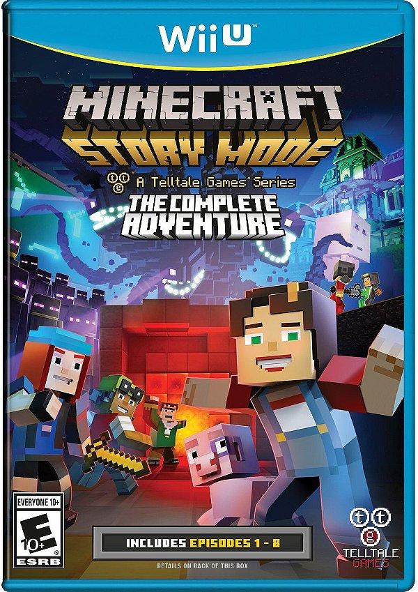 Minecraft: Story Mode The Complete Adventure - Wii U