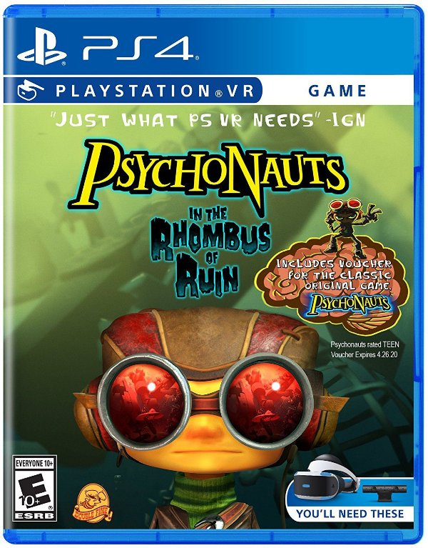 Psychonauts In the Rhombus of Ruin - PS4 VR