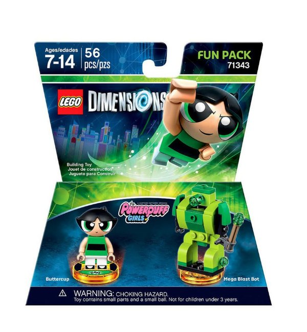 Powerpuff Girls Buttercup Fun Pack - LEGO Dimensions